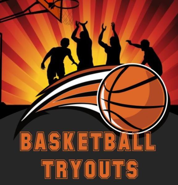 Grades 9-12 Boys Basketball Tryouts Oct 26 thru Oct 28 ~ 6:30-8:00pm