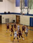 Girls 7th Grade Basketball beats Woodridge Local Schools 22 – 13
