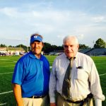 Dreher Alum, Dr. Joseph Jackson honored prior to first football game!