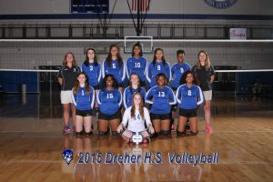 Volleyball Team Pictures  2015