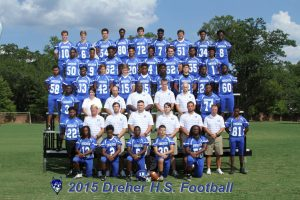 Varsity Football Team Picture 2015