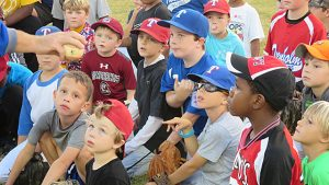 2016 Baseball Clinic Photos