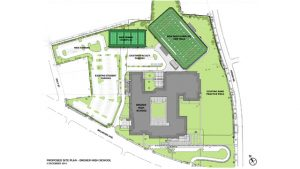 The proposed facilities will sit within the footprint of the existing property.