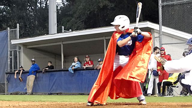 Baseball Tosses Some Halloween Treats