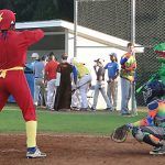 Halloween Game: Flash at Bat