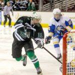 Hockey Team Beats Brush, 9-1, To Earn League Win