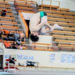 Will Price Sets New School Diving Record on Wednesday Night