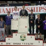 Stan Bleich Takes Third in the State at 132 Pounds
