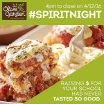 Please Visit Olive Garden on April 12th to Help Support EC Athletics!