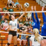 Volleyball Team Rallies From 0-2 Hole to Beat Bay in Five Sets