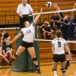 Volleyball Team Makes Quick Work of Parma