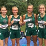 Girls Cross Country Takes Second at Tiger Invitational