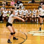 Volleyball Team Beats Brookside to Advance to District Semis