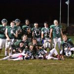 Football Beats Rocky River, 24-7, on Senior Night