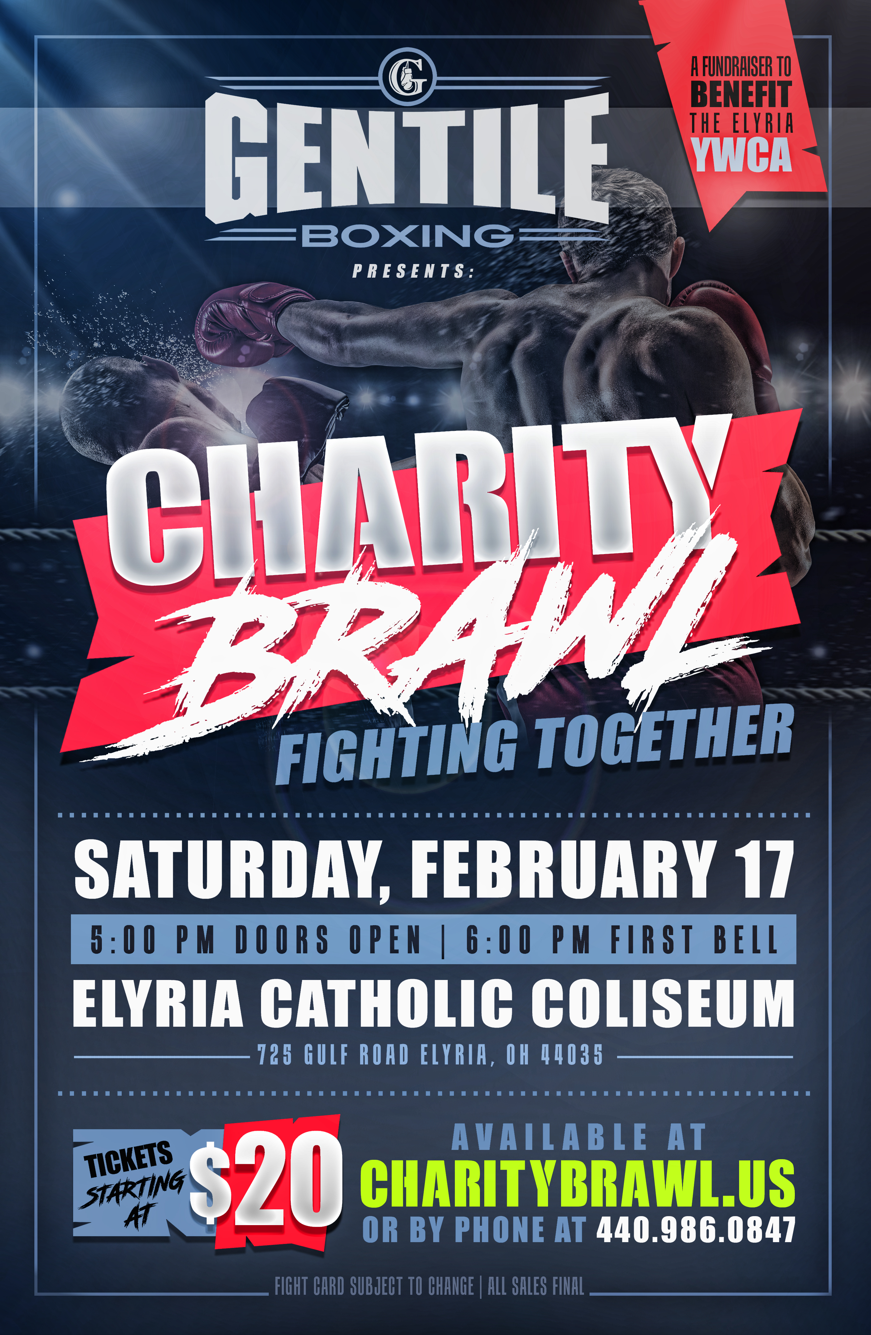 Fundraiser Brings Boxing to Elyria Catholic This Saturday Night