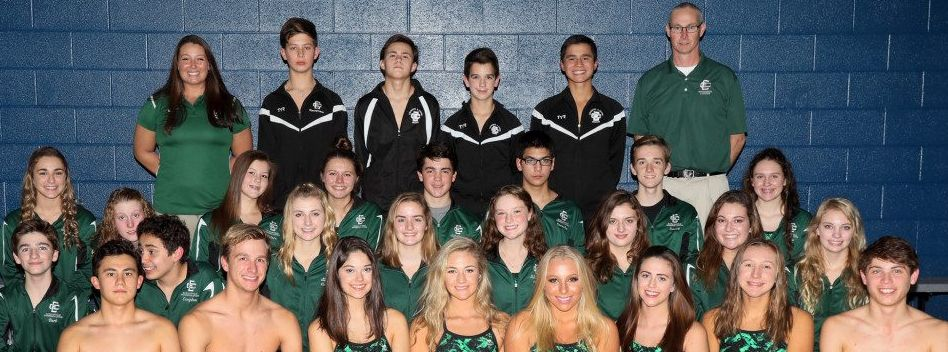 Swimming and Diving Place 17th and 24th at District Championship