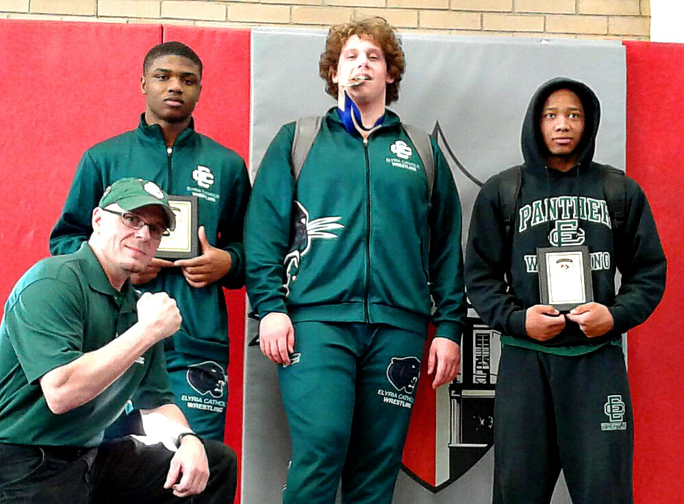 Panther Wrestlers Shine at GLC Championship, Ready for Sectional Weekend at Independence