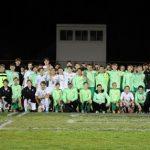 Boys Soccer Hosted Cancer Awareness Night versus Saint Edward