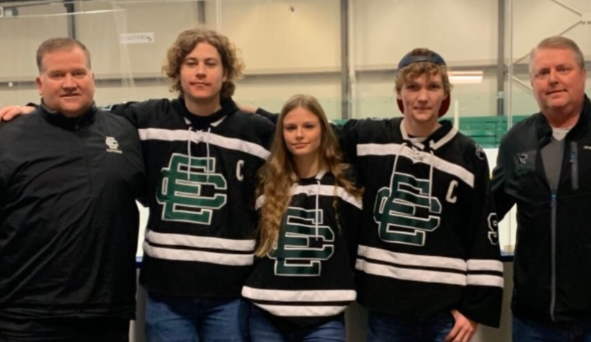Panther Hockey All Stars Recognized at GCHSHL All Star Game
