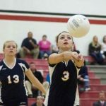 The Quarterback of Hanover-Horton's Varsity Volleyball Team By Marrissa Gibson