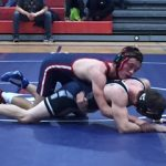 Grapplers Earn First Conference Win and Split Tri-Meet