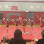 Competitive Cheer Competes at Michigan Center