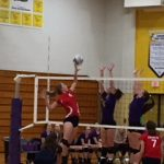Volleyball Falls to Concord in Districts