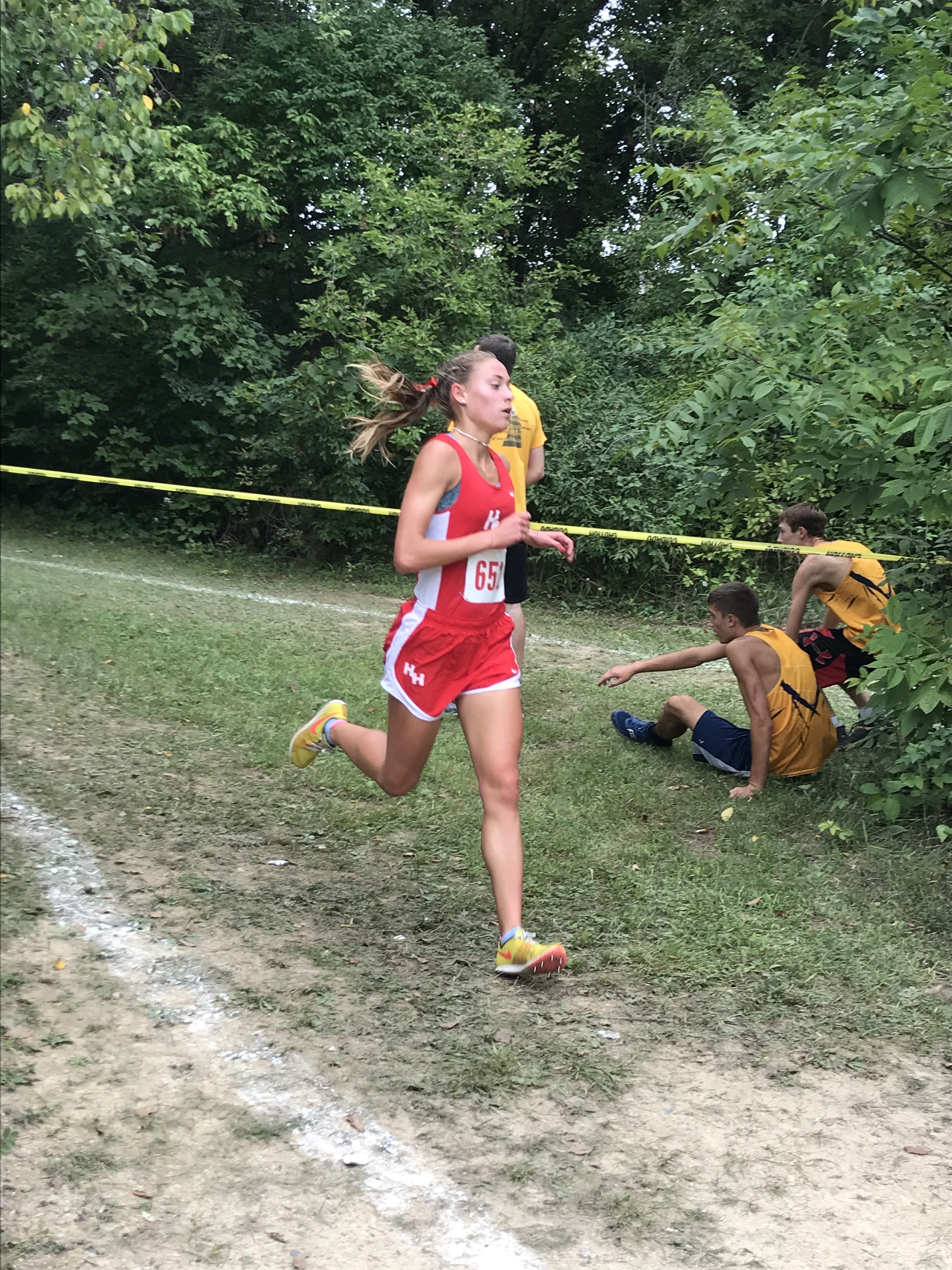 Judy Rector leads 12 Comets Runners in All-County Recognition