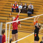 Girls Varsity Volleyball beats Quincy 3 – 0 in Semi Finals