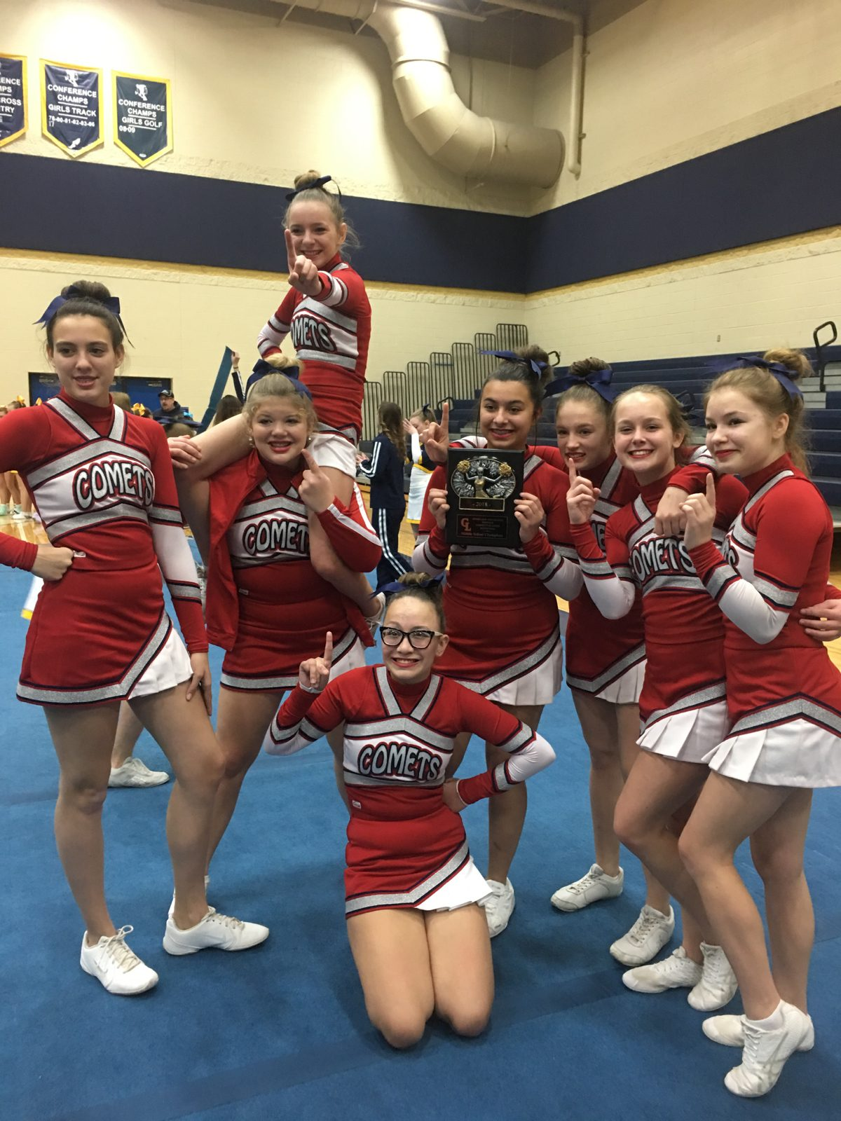 MS Competitive Xheer Wins Frass Lake Invite
