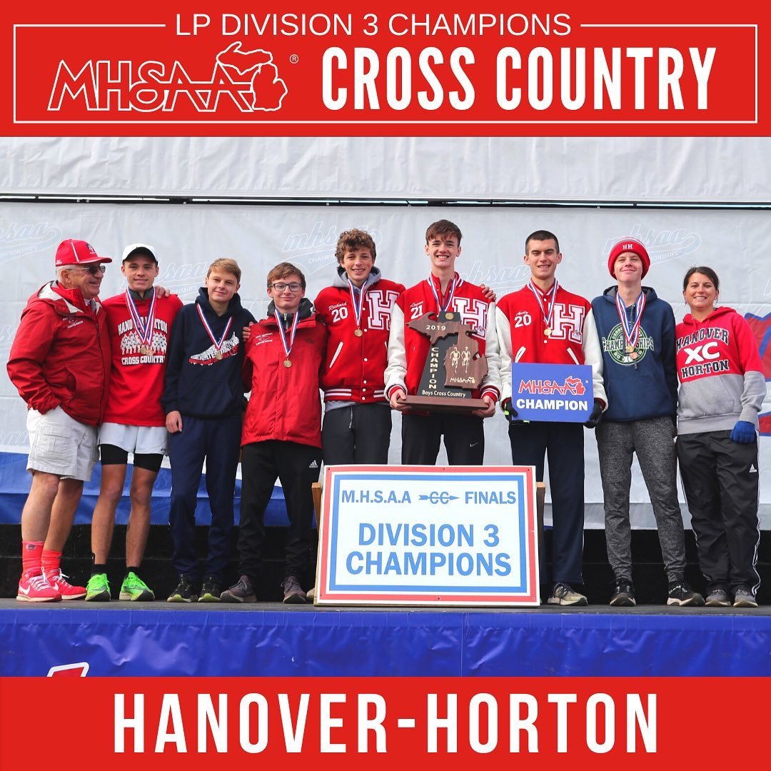 Boys CC State Champs!