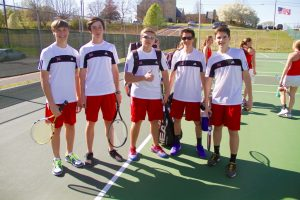 3-22-16 MHS vs. Seymour High School Boy's Tennis