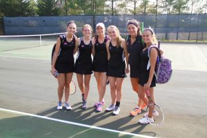 3-23-16  MHS vs. Halls High School Tennis Match!