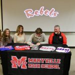 Andrew Jones signs to play baseball with Roane State
