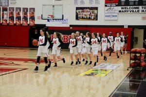 MHS vs. William Blount High School Girl's Basketball!
