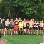Boys Varsity Cross country take 2nd at Panther creek invite