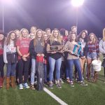 Championship Swim Teams Honored at 10/12 Football Game