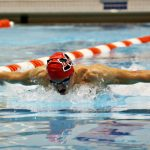 Rebels Swim Team Finishes Regular Season Undefeated