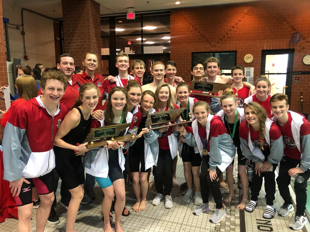 MHS Rebels Swim Team 2019 Championship Season