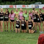Girls Varsity Cross Country finishes 1st place at Panther Creek Invitational