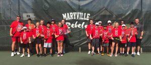 2019 MJHS Rebels Tennis