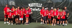2019 MJHS Rebels Tennis