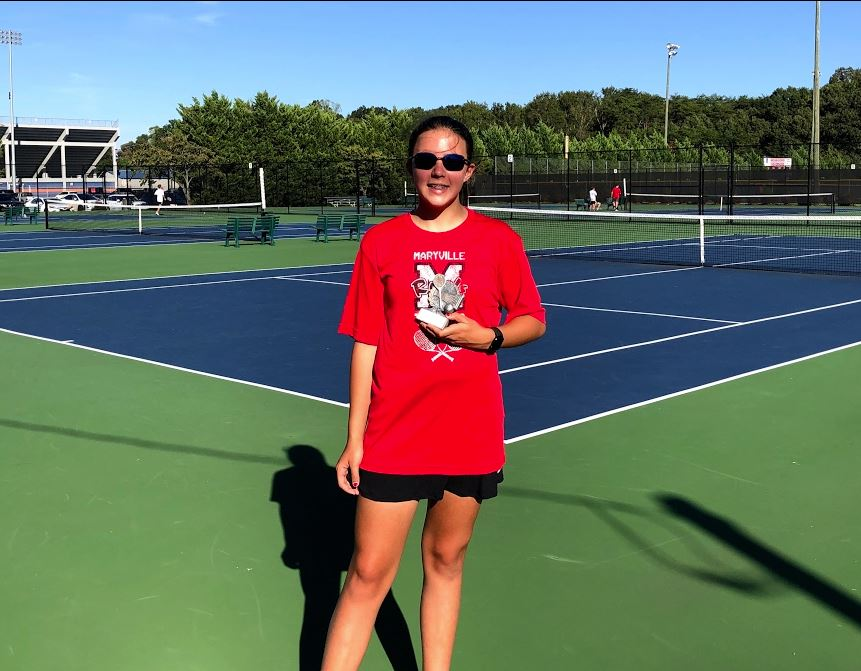 #1 Player in the County! Congratulations Audrey Stanfield!