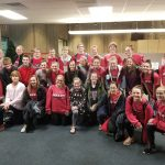 Rebels Swim Team defeats Oak Ridge