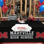 Lady Rebel Volleyball Signing