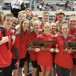 Rebels Swim Team – 1st at STATE, public schools & 2nd overall for second year in row