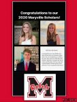 Congrats Maryville Scholar Swimmers
