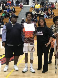 Basketball Senior Night