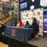 Creekside player participates in football early signing event