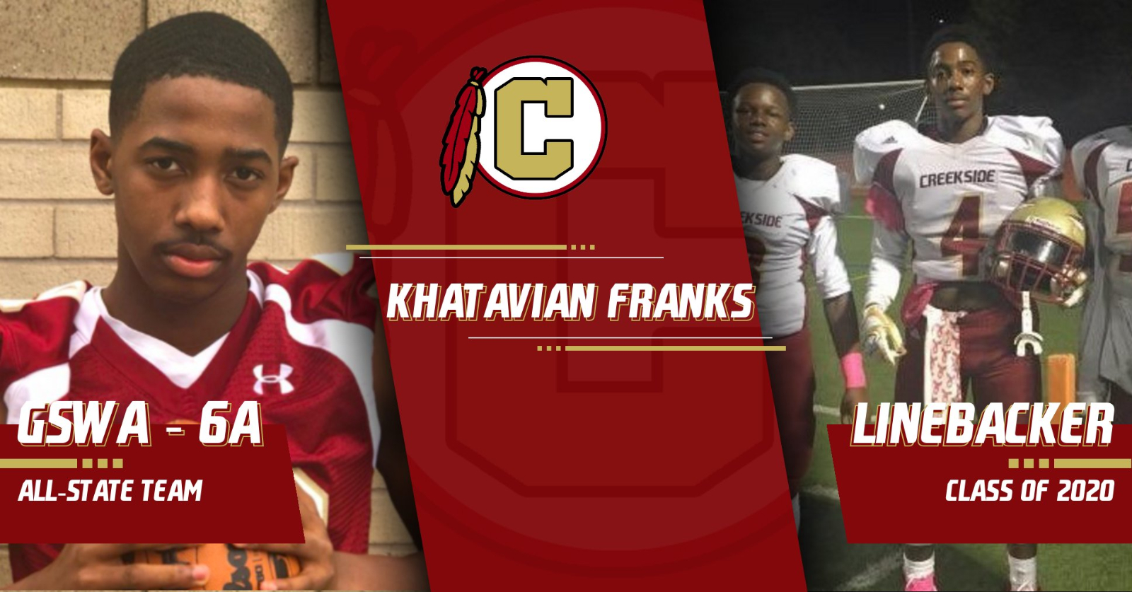 Khatavian Franks Honored by GSWA